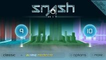 Smash Hit Checkpoint 9 Main Menu