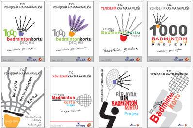 Badminton 1000 kort projesi
