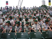 Cub Scouts of Hong Kong at Scout Rally