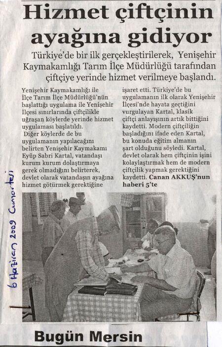 Bugün Mersin Gazetesi 6