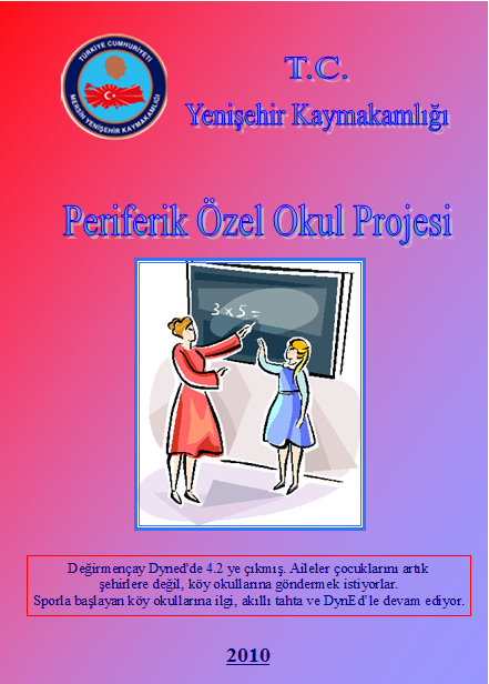 Periferide özel okul projesi broşür sf 1
