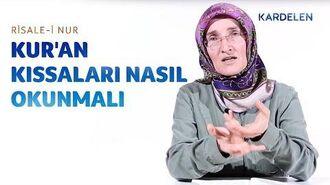 Risale-i Nur Dersleri 1. Lem'a 1 - Kur'an kıssalarına muhataplık üslubu, Hz. Yunus & Ninova halkı-0