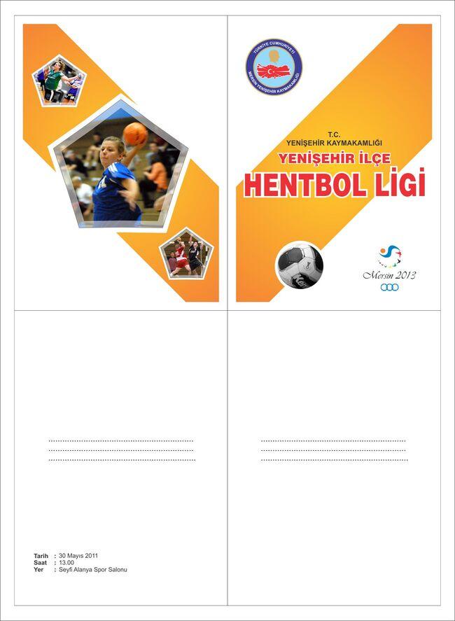 Yenişehir hentbol davetiye.