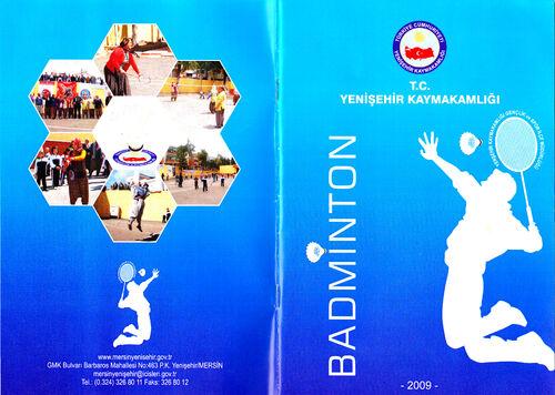 Badminton Broşür Kapağı