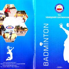 Badminton Broşür Kapağı 2009