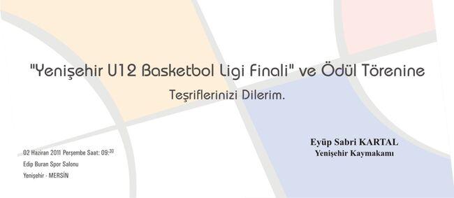 Basketbol davetiyesi 2