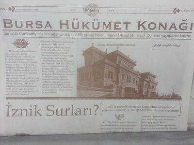 Bursa Hükümet Konağı