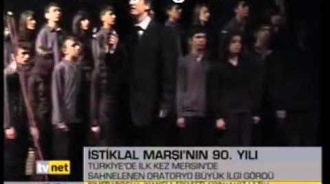 Yenişehir İstiklal Marşı Oratoryosu 2011 Tv Net Videosu-1