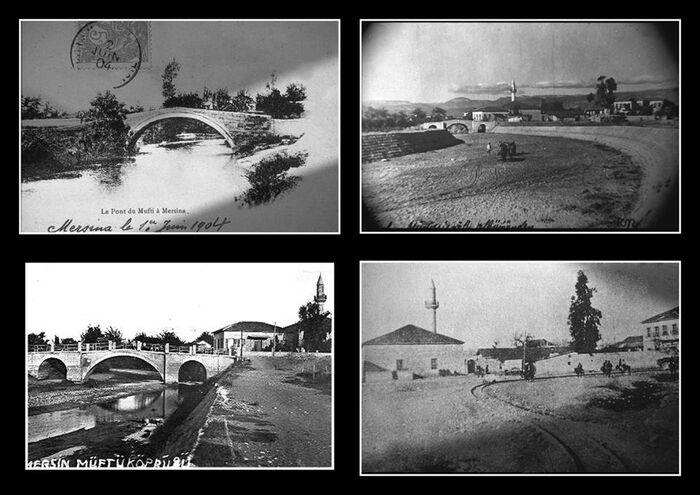 Tarihi müftü köprüsünün en eski resimleri. fransızlar bile müftü köprüsü derken yerli Fransızdan beterler Efrenk köprüsü ve Efrenk deresi demekteler