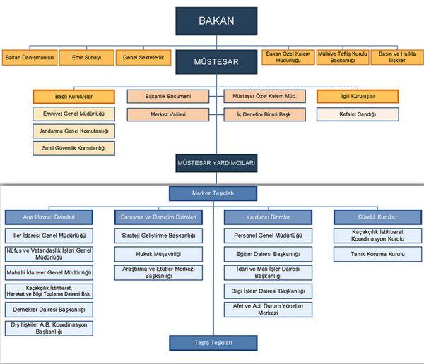 Teşkilat şeması