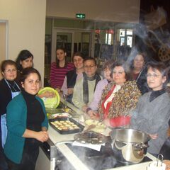 Yenişehir HEM'in Kipa'daki aşçılık kursu