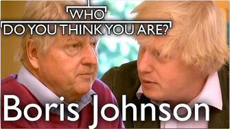 Prime Minister Boris Johnson Traces His Family History Who Do You Think You Are