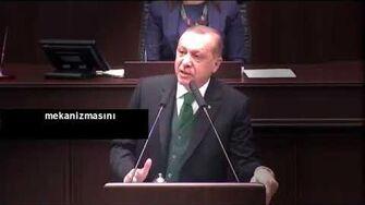 Erdoğan 'Uyanıklar Kaçtı, Akılsızlar tuzağa düştü' 4 dakika