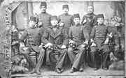 Ataturk, Ottoman War Academy, 1901