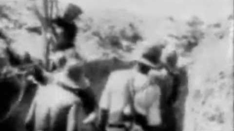 The Battle Of Gallipoli. Rare Film Footage