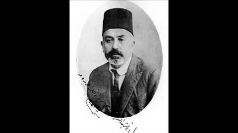 Mehmet Âkif Ersoy Safahat Okuyucusuna-0