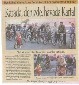 "Bisiklet Taka -"" Karada Denizde Havada Kartal"""
