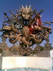 Osmanlı arması heykeli muhteşem