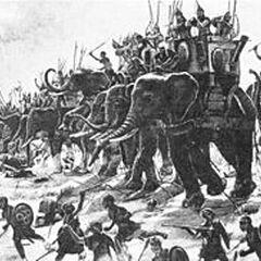 Battle of Zama by Henri-Paul Motte, 1890