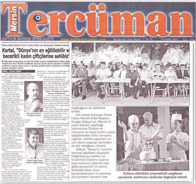 Tercüman gazetesi 1