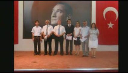 Öğretmenlere takdir töreni 2009 Dyned