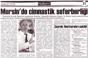 Haberci gazetesi 24 şubat 2011