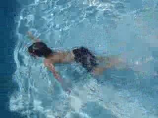 Minik su altı dalgıcı Harun Kartal