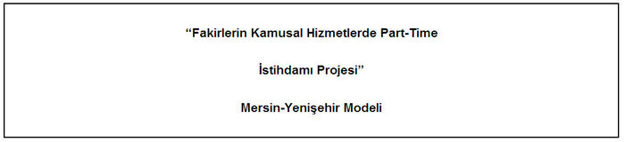 İstihdam Projesi