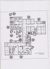 Yenişehir Hükümet Binasının Harita(Plan) Örneği