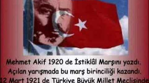 Mehmet Akif ERSOY'un Hayatı PPT alt yazılı