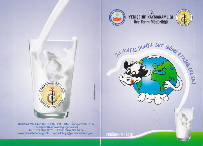 Dünya süt günü.