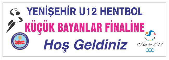 Yenişehir hentbol BAYANLAR afiş