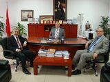 MEB Eğitim Teknolojileri Genel Müdür Yardımcısı Sayın Tunay Alkan'nın makam ziyareti