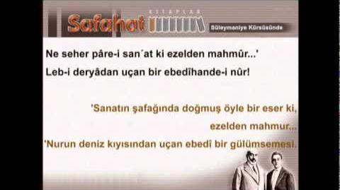 Süleymaniye kürsüsünde 1 - Mehmet Akif Ersoy - Safahat