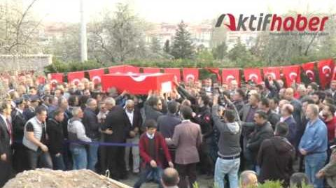 Şehit Polis Memuru Salih Taç Son Yolculuğuna Uğurlandı