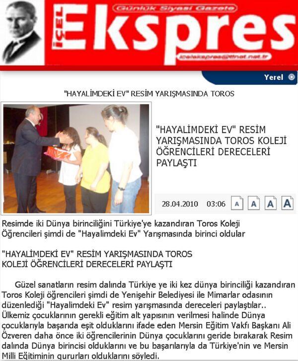 İçel ekspres gazetesi 28 Nisan 2010.jpg.