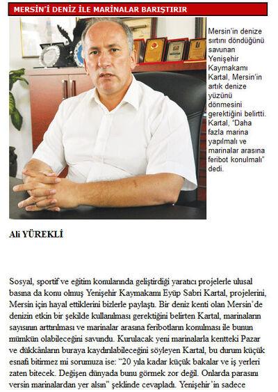 Bugün mersin gazetesi 28.09.2011