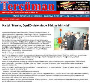 Mersin tercüman gazetesi