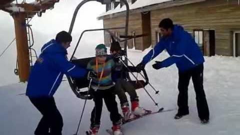 Harun un kayak için ilk dağa ilk kez çıktı