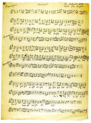 Mehmet Akif Bülbül şiiri ve Ali Rıfat Bey bestesi 07.03.2014 100014