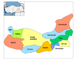 Elazığ districts