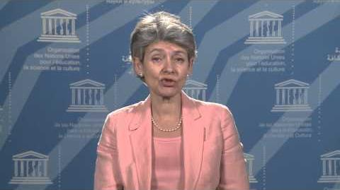 Video Message from Ms Irina Bokova on the occasion of World Teachers' Day