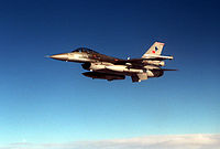 F-16C Falcon from the Turkish Air Force