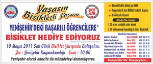 Yenişehir bisiklet afişi 3