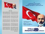 12 Mart İstiklal Marşı'nın Kabulünün Kutlama Programı