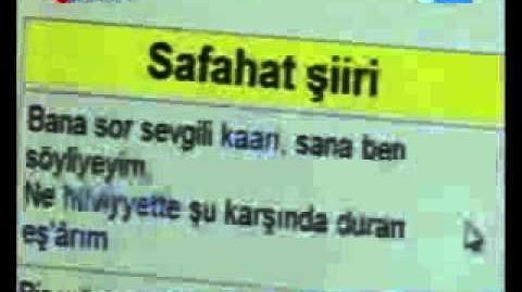 Safahat projesi TRT Haber