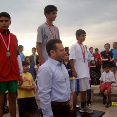 29 Ekim Atletizm Yarışmalarında İl birincisi olan kursiyerler