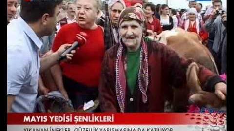 Beşikdüzü Mayıs Yedisi Şenliklikleri TRT Haber'de