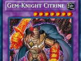 Gem-Knight Citrine