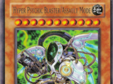Hyper Psychic Blaster/Assault Mode